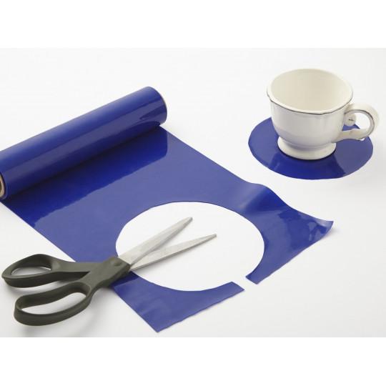 Rouleau Dycem antidérapant bleu 20cm x 2m