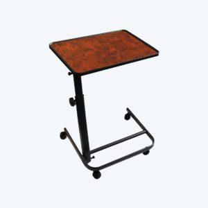 Table de lit diffusion 3 positions noyer