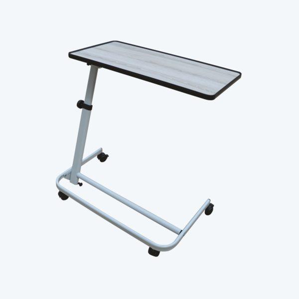 Table spéciale fauteuil plateau gris