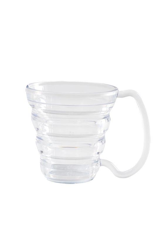 tasse ergo néon transparente