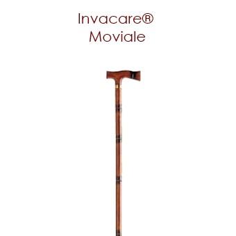 Canne Moviale 90 cm bambou poignée en T