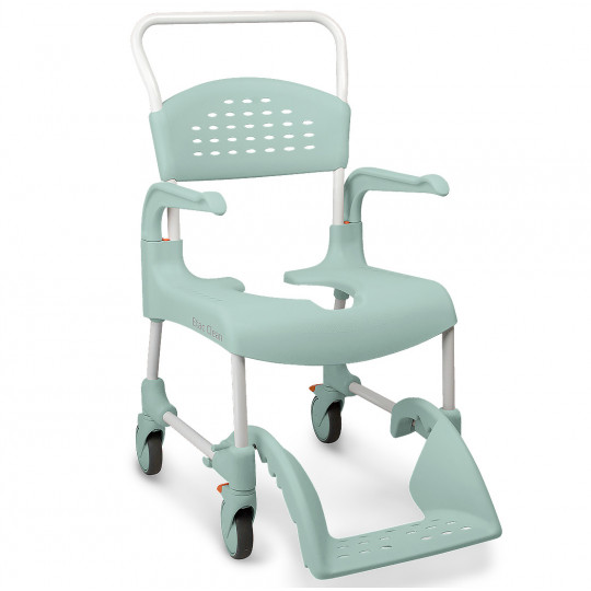 Chaise de douche clean verte