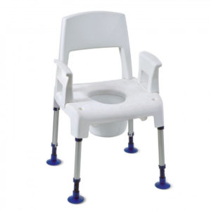 chaise percee aquatec pico commode