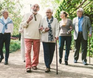 Trouble de la marche personne âgée